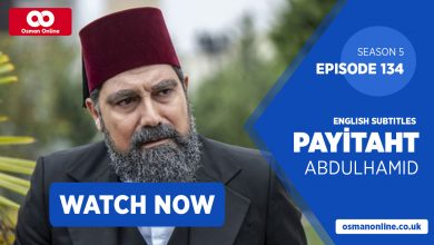 payitaht abdulhamid episode 134 with english subtitles