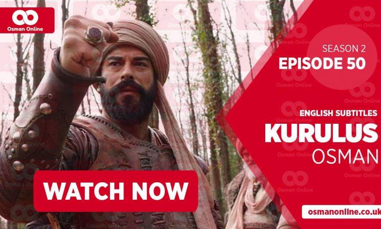 Watch Kurulus Osman Season 2 Episode 50 with English Subtitles