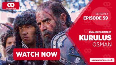 Watch Kurulus Osman Season 2 Episode 59 with English Subtitles