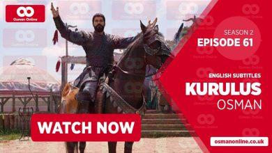 Watch Kurulus Osman Season 2 Episode 61 with English Subtitles